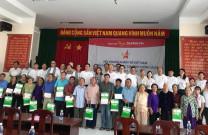 Hội DNT Quảng Ninh đồng hành cùng TƯ Hội DNT Việt Nam trao quà gia đình chính sách và tri ân AHLS nghĩa Trang Hàng Dương