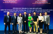 Quảng Ninh: Tổ chức Hội nghị xúc tiến đầu tư, thúc đẩy xuất khẩu